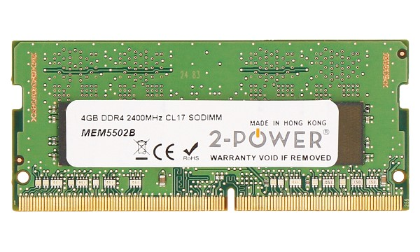 Pavilion 15-bc005ng 4GB DDR4 2400MHz CL17 SODIMM