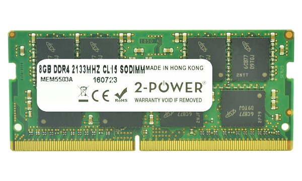 Pavilion 15-aw008ca 8GB DDR4 2133MHz CL15 SODIMM