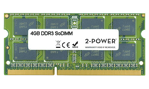 Aspire V3-571-73634G50Makk 4GB MultiSpeed 1066/1333/1600 MHz SoDiMM