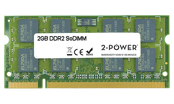 Satellite P500-11E DDR2 2GB 800MHz SoDIMM