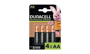 Duracell AA 1300mAh Rechargeable Pack de 4