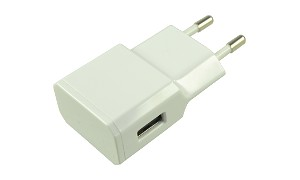 2A Single Port USB Charger (EU) - White