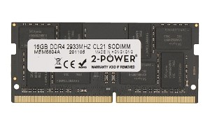 16GB DDR4 2933MHz CL21 SoDIMM