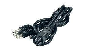 Clover Leaf Power Cord (US Plug)