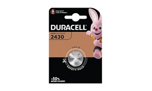 Pile bouton Duracell Plus.
